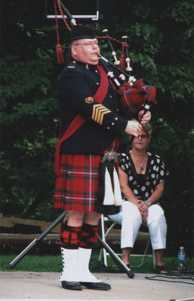 regimental pipers